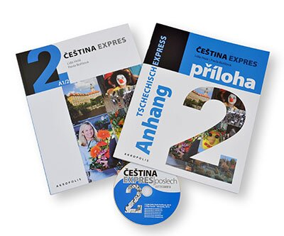 Čeština expres 2 (A1/2) + CD – GERMAN
