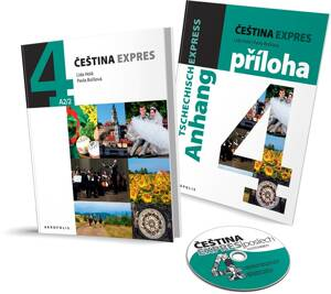 Čeština expres 4 (A2/2) + CD - GERMAN